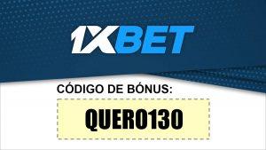 Bónus 130€ 1xBet: QUERO130